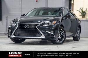 2017 Lexus ES 350 TOURING; CUIR TOIT GPS $6,226 DEMO REBATE OFF