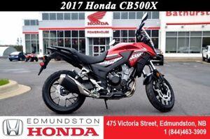 2017 Honda CB500XA ABS Take the road less traveled!!