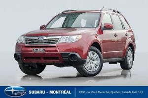 2010 Subaru Forester 2.5i One owner, very low mileage