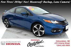 2015 Honda Civic Coupe Si New Tires! 205hp! Nav! Power Moonroof!