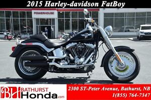 2015 Harley-Davidson FatBoy Low Mileage! Mint Condition! Screami