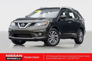 2015 Nissan Rogue SL NAVIGATION/LEATHER/PANORAMIC ROOF/BLIND SPO
