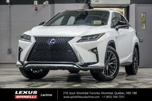 2018 Lexus RX 450h HYBRIDE F SPORT AWD; $6,479 DEMO REBATE FROM