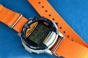 VINTAGE-TIMEX-MICROSOFT-NASA-TYPE-MENS-IRONMAN-TRIATHLON-DATA-LINK-WATCH