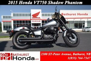2015 Honda VT750 Shadow Phantom Impressive power over a broad rp