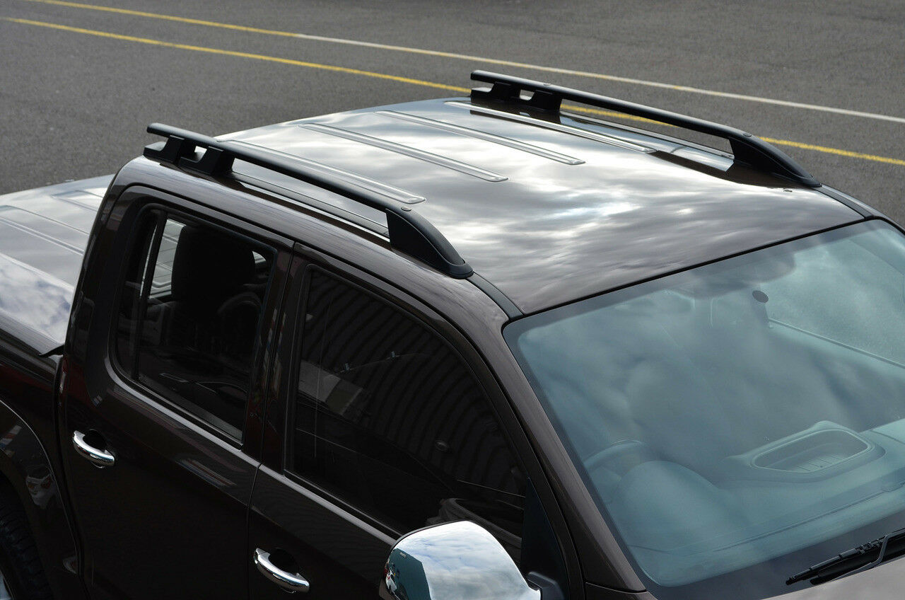 int roof volkswagen en front cargo amarok mount ii full slimline kit rack runner volkwagen rail foot by