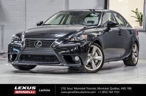 2014 Lexus IS 350 EXECUTIF AWD; AUDIO TOIT GPS SOUGHT AFTER VEHI