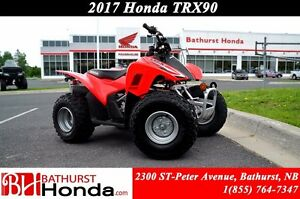 2017 Honda TRX90X Engineered specifically for younger riders!!