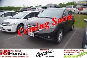 2014 Honda CR-V TOURING Navigation! Leather! Power Moonroof! Hea