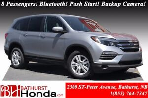 2017 Honda Pilot LX 8 Passengers! Bluetooth! Push Button Start!