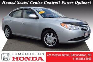 2010 Hyundai Elantra GL Heated Seats! Cruise Control! Power Opti