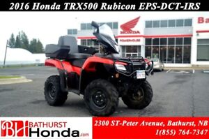 2016 Honda TRX500 Rubicon EPS - IRS - DCT Automatic! Power Steer