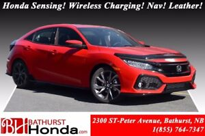 2017 Honda Civic Hatchback SPORT TOURING Add-on Skirt Package! H