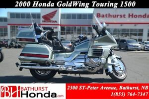 2000 Honda Gold Wing 1500 Cruise Control! Hitch!