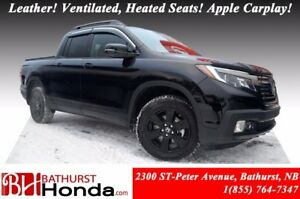 2017 Honda Ridgeline BLACK EDITION In Bed Truck Audio System! Le