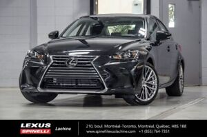2018 Lexus IS 300 LUXE AWD; CUIR TOIT ANGLES MORTS GPS LSS+ $5,2