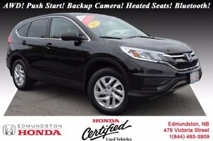 2015 Honda CR-V SE - AWD AWD! Push Start! Backup Camera! Heated