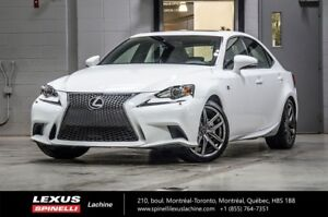 2015 Lexus IS 250 F SPORT II AWD; **RESERVE / ON-HOLD** LOW MILE