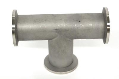 Tee Vacuum Fitting - Kf25 Stainless Steel