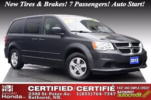 2012 Dodge Grand Caravan SE Certified! New Tires & Brakes! 7 Pas