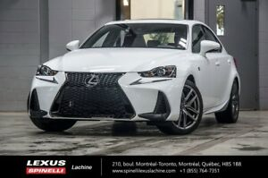 2018 Lexus IS 300 F SPORT I AWD; CUIR TOIT CAMERA LSS+ $3,240 DE