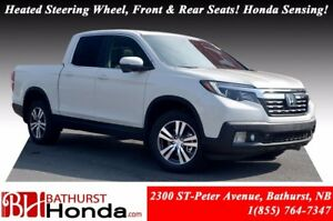 2017 Honda Ridgeline EX-L Heated Leather Front & Rear Seats! Hon