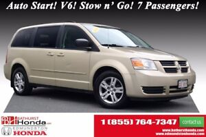 2010 Dodge Grand Caravan SE Auto Start! V6! Stow n' Go! 7 Passen