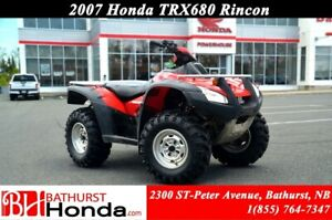 2007 Honda TRX680 Rincon Fully Automatic! Fuel Injection! Indepe