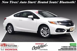 2014 Honda Civic Coupe LX New Tires! Auto Start! Heated Seats! B
