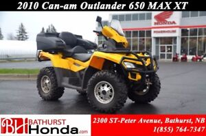 2011 Can-Am Outlander 650 Winch! Windshield! Mag Wheels!