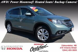 2012 Honda CR-V EX - AWD AWD! Power Moonroof! Heated Seats! Back