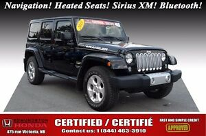 2015 Jeep Wrangler Unlimited SAHARA Navigation! Heated Seats! Si