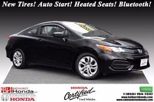 2014 Honda Civic Coupe LX New Tires! Auto Start! Heated Seats! B