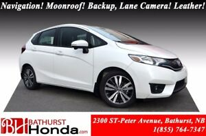 2016 Honda Fit EX-L Navigation! Leather! Backup, Lane Camera! Po