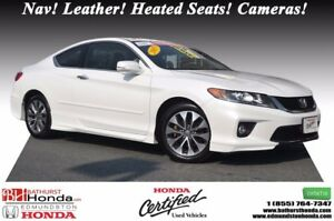 2015 Honda Accord Coupe EX-L w/Navi Nav! Leather! Heated Seats!