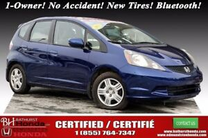 2013 Honda Fit LX 1-Owner! No Accident! New Tires! 60/40 Split-f