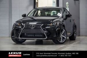 2018 Lexus IS 350 EXECUTIF AWD; CUIR TOIT GPS AUDIO LSS+ $6,088