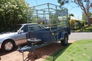 Premier heavy duty caged Trailer 7.5 X 4 Ft Glen Osmond Burnside Area Preview