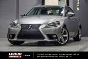2014 Lexus IS 350 LUXE AWD; CUIR TOIT GPS 306 CH LOW MIELAGE - G