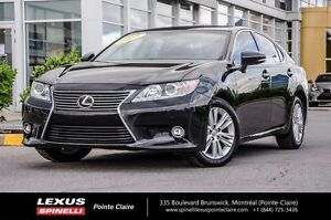 2015 Lexus ES 350 TOURING PACKAGE, NAV, CAM, CUIR, TOIT ONE OWNE