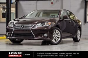 2015 Lexus ES 350 PREMIUM; CUIR TOIT CAMERA VERY LOW MILEAGE