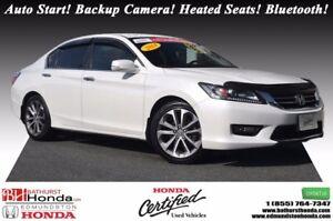 2014 Honda Accord Sedan SPORT Honda Certified! 6 Speed Manual! A