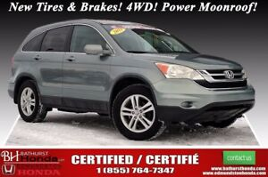 2011 Honda CR-V EX Certified! New Tires & Brakes! 4WD! Power Moo