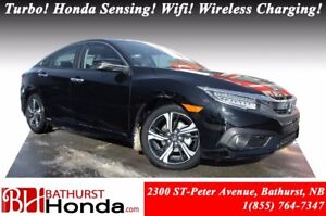 2016 Honda Civic Sedan TOURING Turbocharged Engine! Honda Sensin