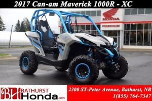 2017 Can-Am MAVERICK 1000R - XC Fox Suspension!
