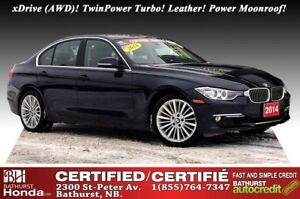2014 BMW 3 Series 328i xDrive - AWD xDrive (AWD), TwinPower Turb