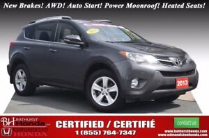 2013 Toyota RAV4 XLE - AWD New Brakes! AWD! Auto Start! Power Mo