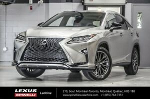 2017 Lexus RX 350 F SPORT III AWD; GPS TOIT AUDIO THE MOST EQUIP