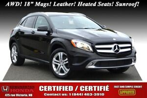 "2015 Mercedes Benz GLA-Class GLA 250 - AWD AWD! 208hp! 18"" Mags!"