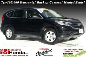 2015 Honda CR-V LX - FWD Backup Camera! Heated Seats! Bluetooth!